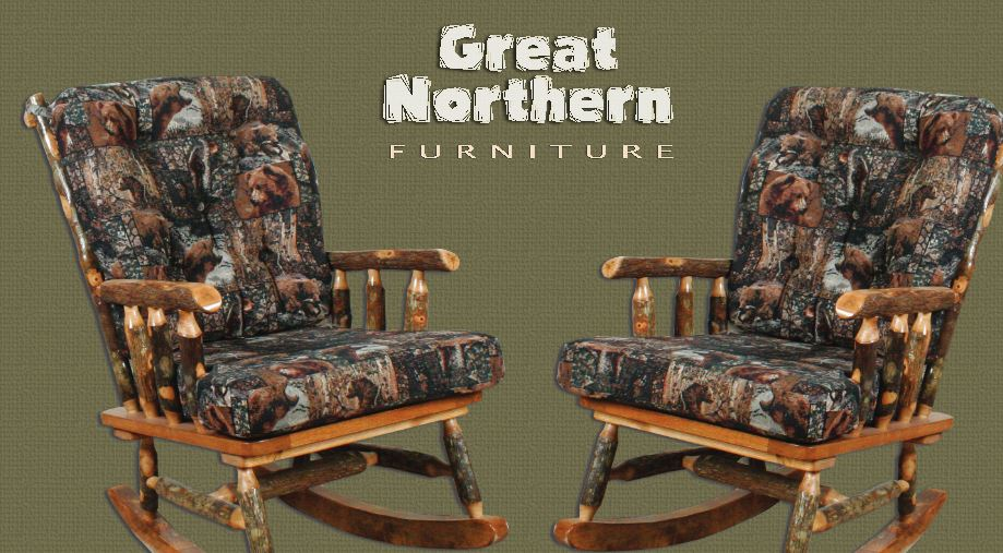 Great Northern H203 Hickory Rocker