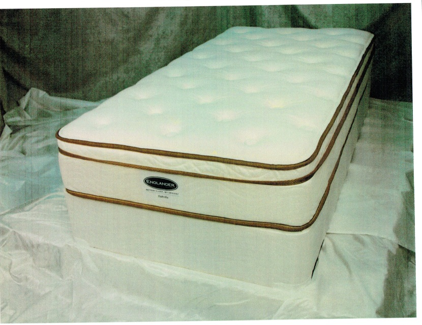Brand Name King Size Pillow Top Mattress Set